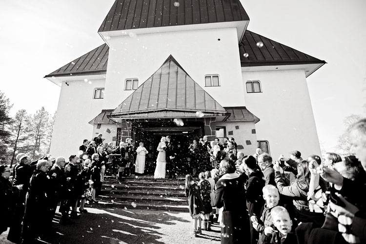 Anu & Kuisma, Rovaniemi Church, Korundi House of Culture, Rovaniemi, Wedding