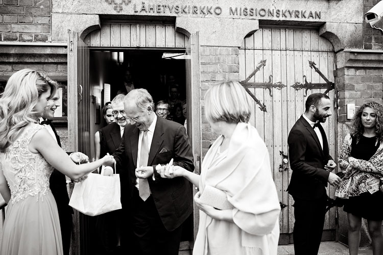 Isa & Antti, The Finnish Evangelical Lutheran Mission, Restaurant NJK, Helsinki, Wedding